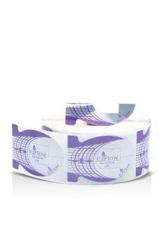 EzFlow Perfect C-Curve Forms Oval (Purple) 500 ct