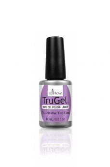 EzFlow TruGel No-Cleanse Top Coat 0.5 fl oz