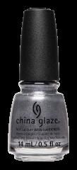 China Glaze Nail Lacquer, Snow Biz, 0.5 fl oz